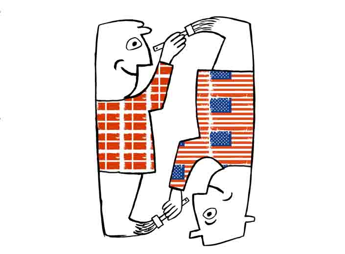 Amerikansk oplægsholder i Danmark